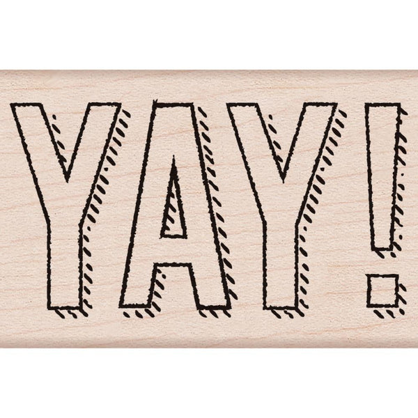 YAY! Hero Arts Mounted Rubber Stamp