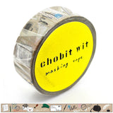 Happy Mail Yuubin chobit wit Washi Tape