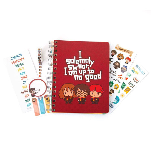 This Harry Potter Chibi Planner Set is a one-stop-shop- perfect as a gift or a starter kit for anyone of any age to start exploring the planner world!