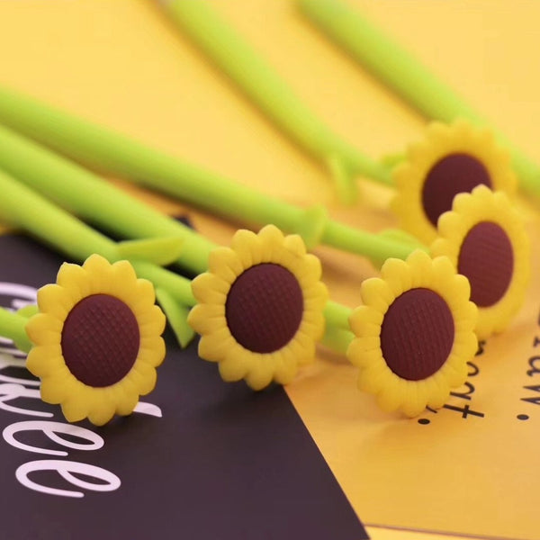 Sunflower Gel Pen Black Ink