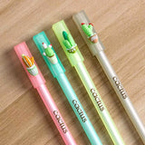 Cactus Garden Gel Pen. These cactus pens are perfect for planning, for work, home, desk or for school. They will be a beautiful addition to your pen collection!