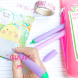 back to school supplies cute pens Eggplant Gel Pen
