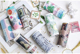 Forest Language Wide Washi Tape