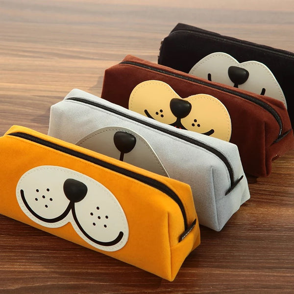 Dog Face Pen Case
