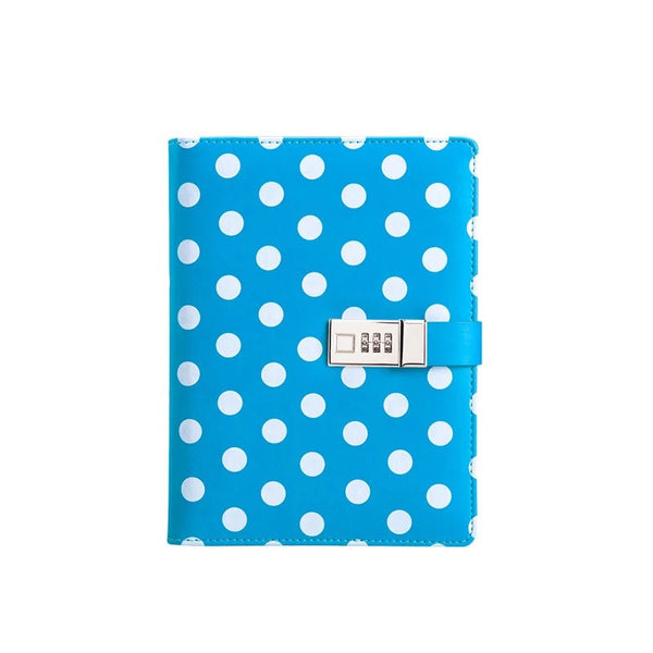 Blue Polka Dots A5 Binder 50% OFF