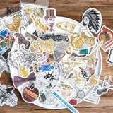 Circus Flake Sticker (60 pieces)