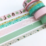 Green Personal BINDER ONLY • Free Washi Tape with this order
