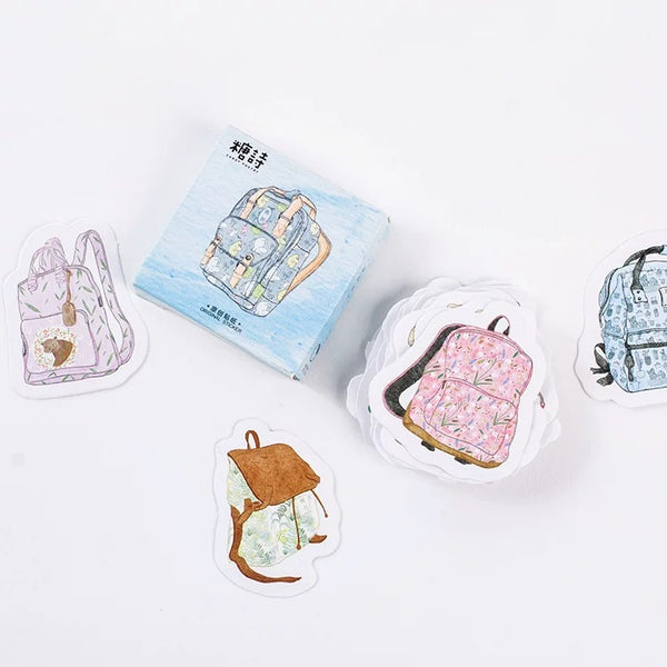 Backpack Flake Sticker Mini Box (45 pieces)