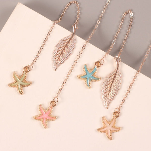 Cute, sweet and perfect for your book and planner! These starfish bookmark will add the perfect flair to your planner while allowing you to bookmark your pages or simply adorn your planner.