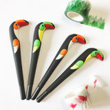 Toucan Bird Pen 0.5mm Black Ink