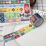 Mosaic Tiles Washi Tape Ever&Ein