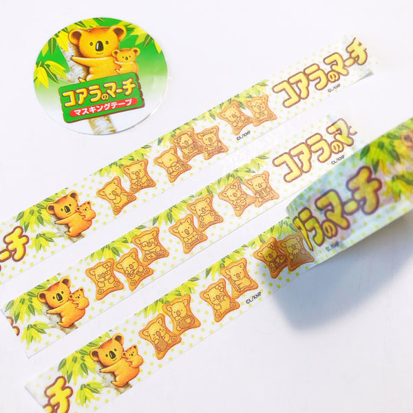 Koala March Lotte Meiji Washi Tape