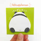 Panda Bear Buttocks Sticky Notes Mind Wave
