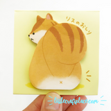 Squirrel Buttocks Sticky Notes