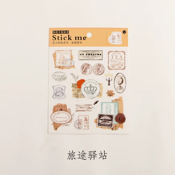 Postmark Washi Sticker