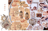 Junk Journal Writable Flake Sticker (45 pieces)