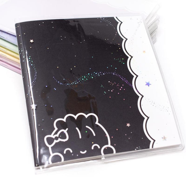 Wonton In A Million A5 Wide - Insert Cover Starry Night Holo Snug Fit