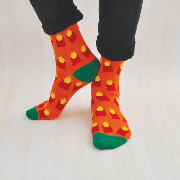 French Fries Kaiser Style Sock It Your Way Socks