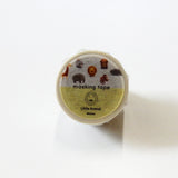 Group Little Animal Round Top Masking Tape • Ratako