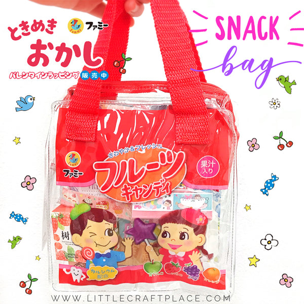 Snack Bag Red Little Craft Place Grab Bag Surprise Box