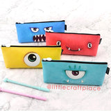 Cute Monster Pen Pouch!! Need a place to store cute pens and little accessories on-the-go?! We've got you covered!