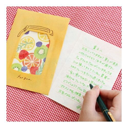Fruits Letter Set Writing Papers & Envelopes