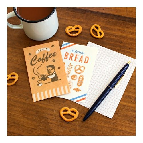 Bread & Coffee Letter Set