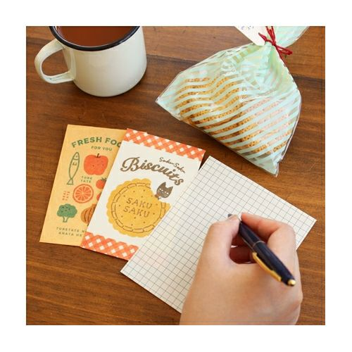 Biscuits Mini Letter Set Writing Paper & Envelope