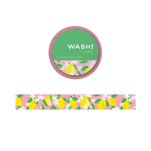 Lemon Trees Washi Tape