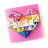Love Card by Paige Evans for Little Craft Place