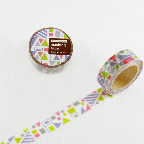 Material Michemon Flag Round Top Masking Tape