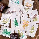 Forest Rubber Stamp