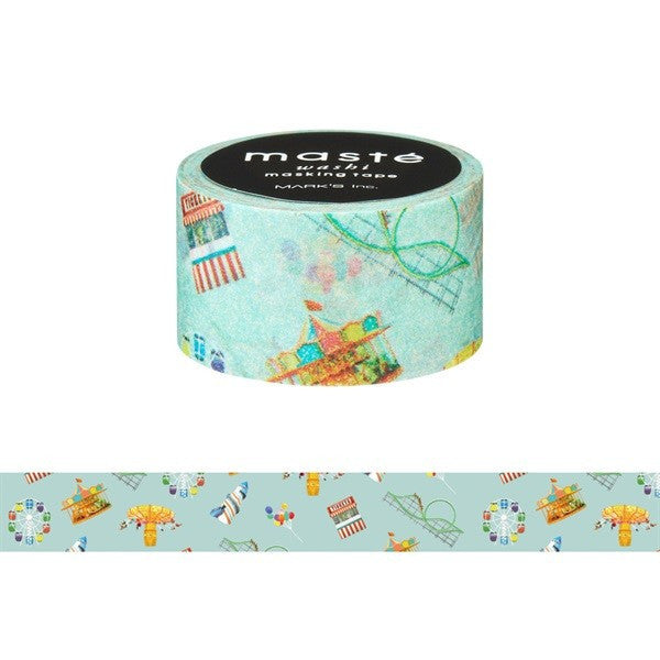 Amusement Park Japanese Washi Tape • City Masté Masking Tape