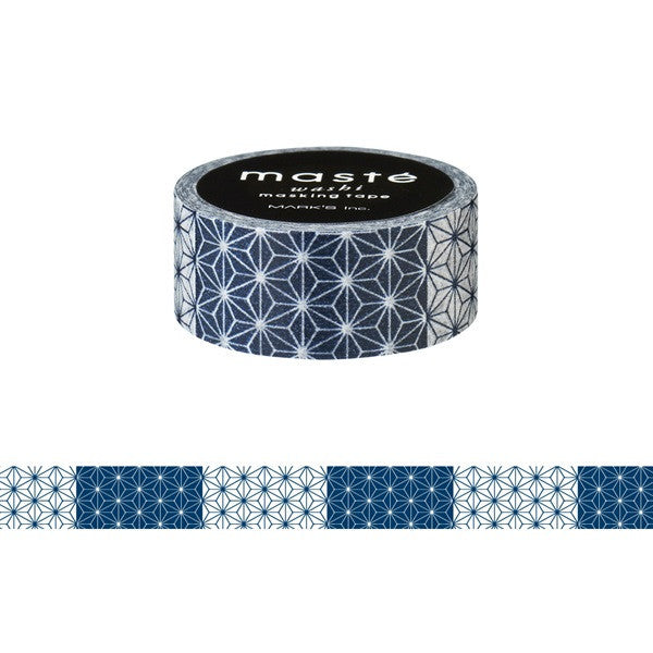 Asanoha Japanese Washi Tape • Masté Masking Tape Japan Series