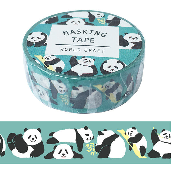 Cuddly Panda Washi Tape