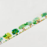 Love Tree Round Top Masking Tape • Little Path Chamilgarden Design