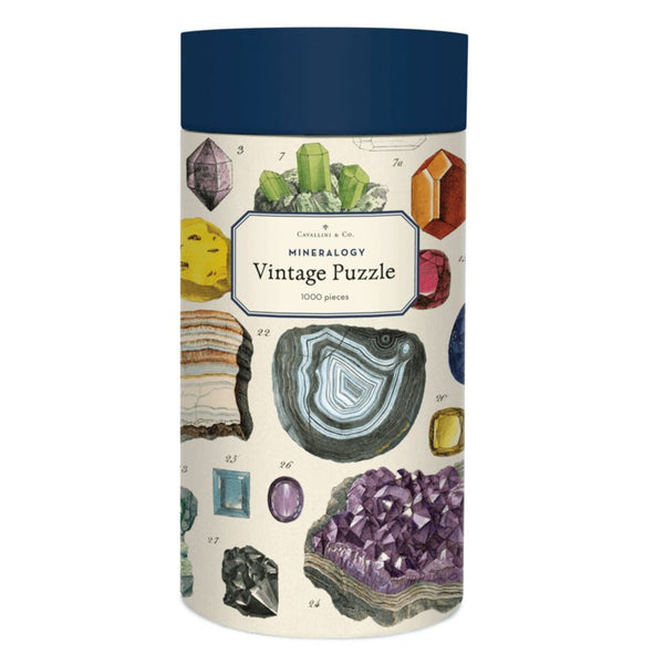 Cavallini & Co Mineralogy 1000 Piece Puzzle