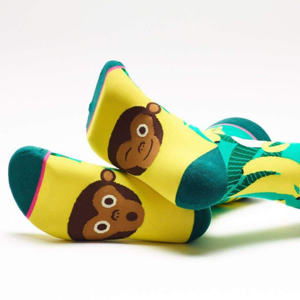 Monkey Business Crew Cut Socks
