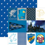 You'll never find anyone more creative and intelligent than a Ravenclaw! Represent all of the Ravenclaws in your life with imagery from this striking, intricate tag paper!