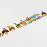 Birthday Round Top Masking Tape • Tips Die-Cut Tape Character Series