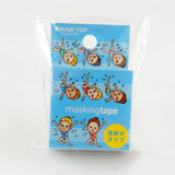 Synchronized Swimming Round Top Masking Tape • Tips Die-Cut Tape Character Series