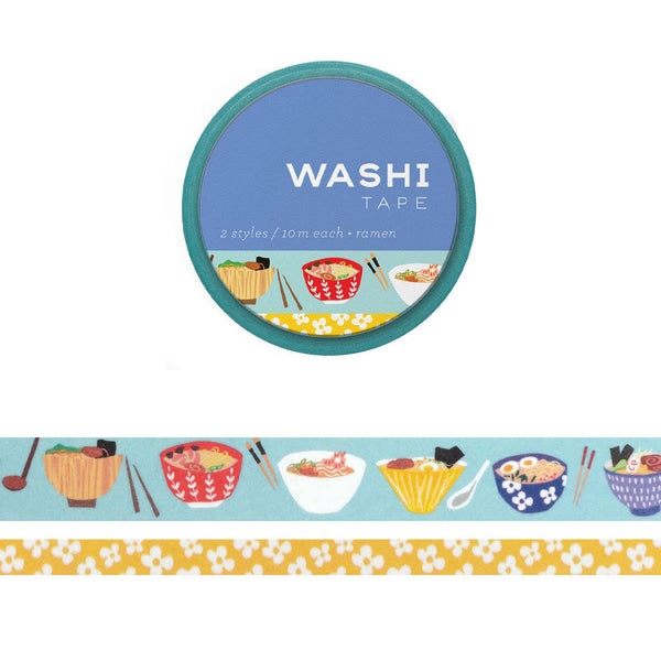 Ramen Set of 2 Washi Tapes