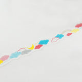Weather Clouds Round Top Die Cut Masking Tape • Space Craft