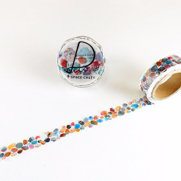 Pebbles Stone Washi Tape Space Craft
