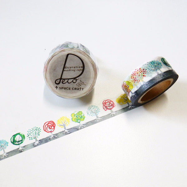 Grove Tree Round Top Masking Tape • Space Craft