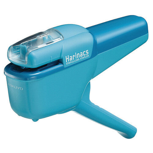 KOKUYO Stapler Harinacs Stapleless Stapler Handy Light Blue