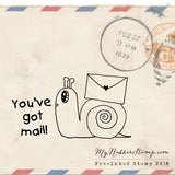 Snail Mail You've Got Mail Happy Mail Stamp