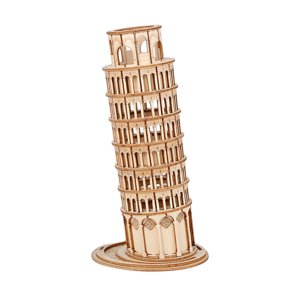 Leaning Tower of Pisa, Modern Vintage Style
