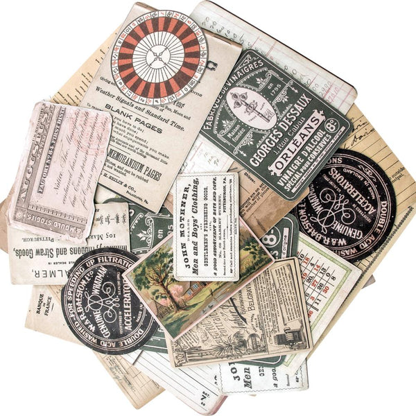 Tim Holtz Idea Ology Layers Cards. The perfect addition to scrapbook pages, cards and other craft projects! This 7x5 inch package contains thirty-three assorted card pieces. Imported.