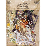 Idea-Ology Botanical Layers Cards 83/Pkg Tim Holtz